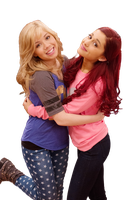 Ariana Grande and Jennette McCurdy by tommz2011