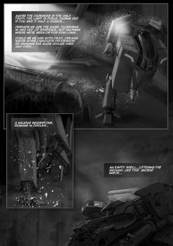 Tunnel Ground  Subterranean Dawn game comic page 2 by Jutami