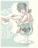 Mint Dessert Fairy by FionaCreates