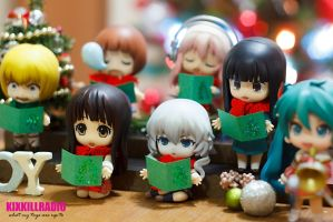 Nendoroid Christmas Choir by kixkillradio