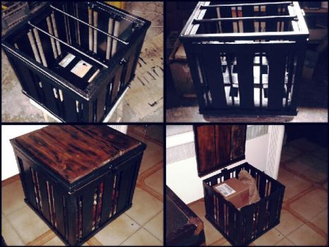 Iron secure box by ReliquiaArcana