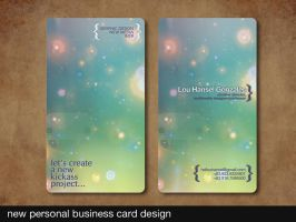 business card personal by tenbiscuits