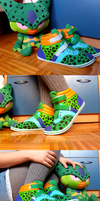 Cell shoes by WalnutSprout
