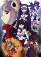 Skullgirls by Neoanais