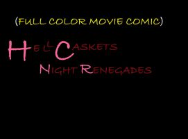 Hell Caskets :  (Full Color Movie Comic ) Teaser by ajtcomicsbrand