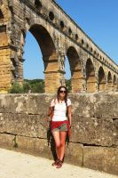 Provence - Pont du Gard Elo by elodie50a