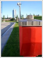 Red Hydrant 2 by GekiSan