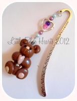 Brown Bear Bookmark by BlueDumbo