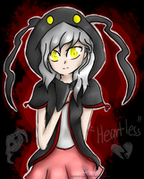 Heartless Hoodie Girl by TheNightgazer