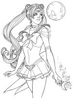 Sailor Moon by JamieFayX