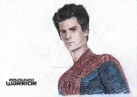 The Amazing Spiderman- Andrew Garfield Colour by renownedwarrior