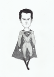 Henry Cavill (man of steel) by Axel2396