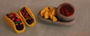 Miniature tacos and nachos by EmisBakery