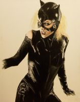 Selina Kyle by BrainFarmer
