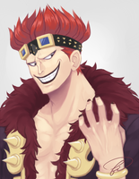 Eustass Kidd by Fishiebug
