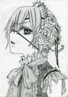 [Black Bulter] Ciel Phantomhive by F6ema