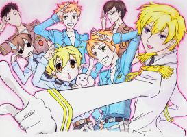 Ouran High School Host Club! by PeaceByPiece95