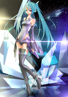 Hatsune Miku Cyber Space ver. by EizenHower