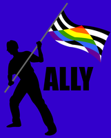 I Am An Ally by JackEmerald