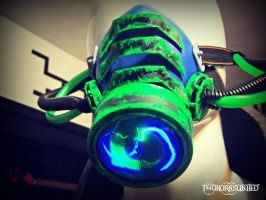 Toxic infusion Cybernetic alien respirator by TwoHornsUnited