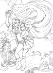 Tangled - coloring page! by Irina-Ari