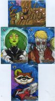 Guardians of the Galaxy AP cards on SALE by mdavidct