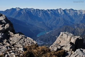 view from Monte Raut by izoard781