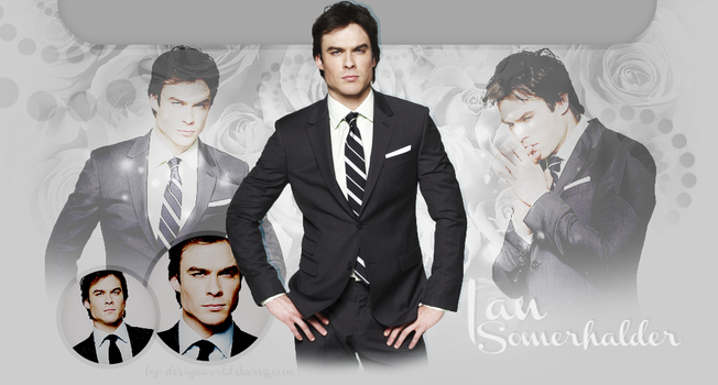 Free Ian Somerhalder header by MiniiBogee