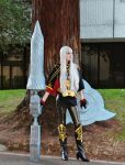 Valkyria Chronicles: Selvaria Bles by BaconFlavoredCosplay