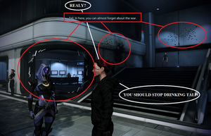 No more turian brandy for you Tali... by jancz89
