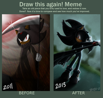 Before and After: Shadow Reaper by ShadowReaper12