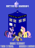 Doctor Whooves Poster by SEGASister