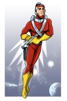 A is for Adam Strange by MachSabre