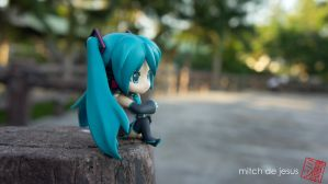 Miku Relaxing by mitch1911