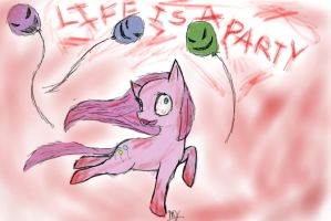 Life Is A Party by Bluebird9209