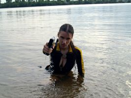 Lara Croft wetsuit - Angry by TanyaCroft