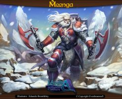 Moonga - Ice Itlan Warrior by moonga