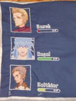Dream Team Cross Stitch by JealaTriumph