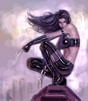 X-23 P0078 by RaffaeleMarinetti