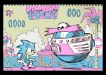 Notepad - Sonic the hedgehog by TonyGanem