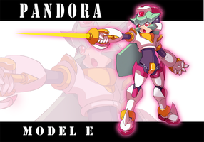 Commission: Pandora Model E by SaitoKun-EXE