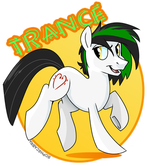Con Badge - Trance by sophiecabra