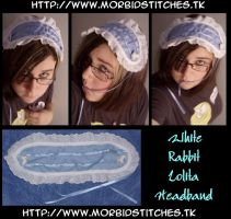 Alice Lolita Headband by morbid-stitches