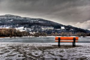 frozen lake no.1 by Tschisi