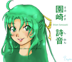 Shion Sonozaki by Bepbo