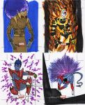 marvel Universe sketch cards25 by TomKellyART