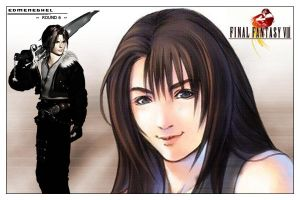 Final Fantasy VIII by edmeneghel