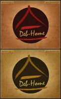 Deb-Home logo by blinka