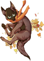 AT: Falling with the Autumn Leaves by Sableu