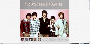 Boys Over Flowers by MakiFroggeh